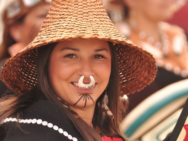 First Nation Lady in Carkross