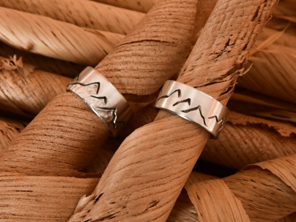 Alpenringe in Silber von Andrea Winkler